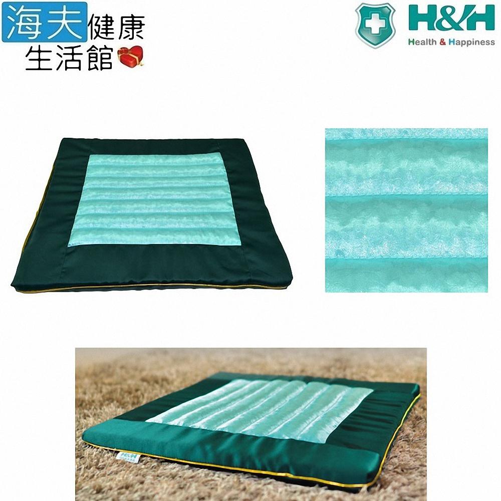 【海夫健康生活馆】南良 H&H 台湾墨绿玉 禅坐垫(40x40x2.5cm)