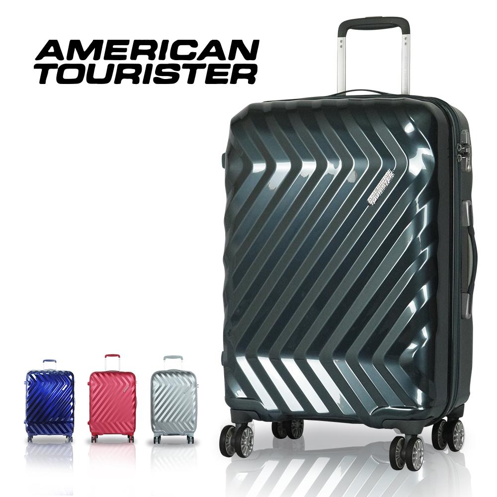 【Samsonite 新秀丽 American Tourister 美国旅行者】行李箱 旅行箱 28吋 I25 (亮面铁灰)