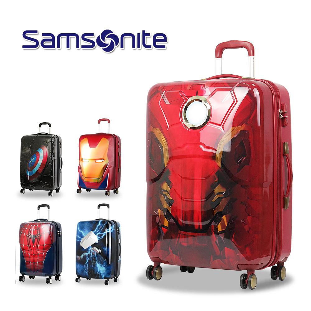 【Samsonite 新秀丽】行李箱 旅行箱 AD2 拉杆箱 26吋(钢铁人身体款)