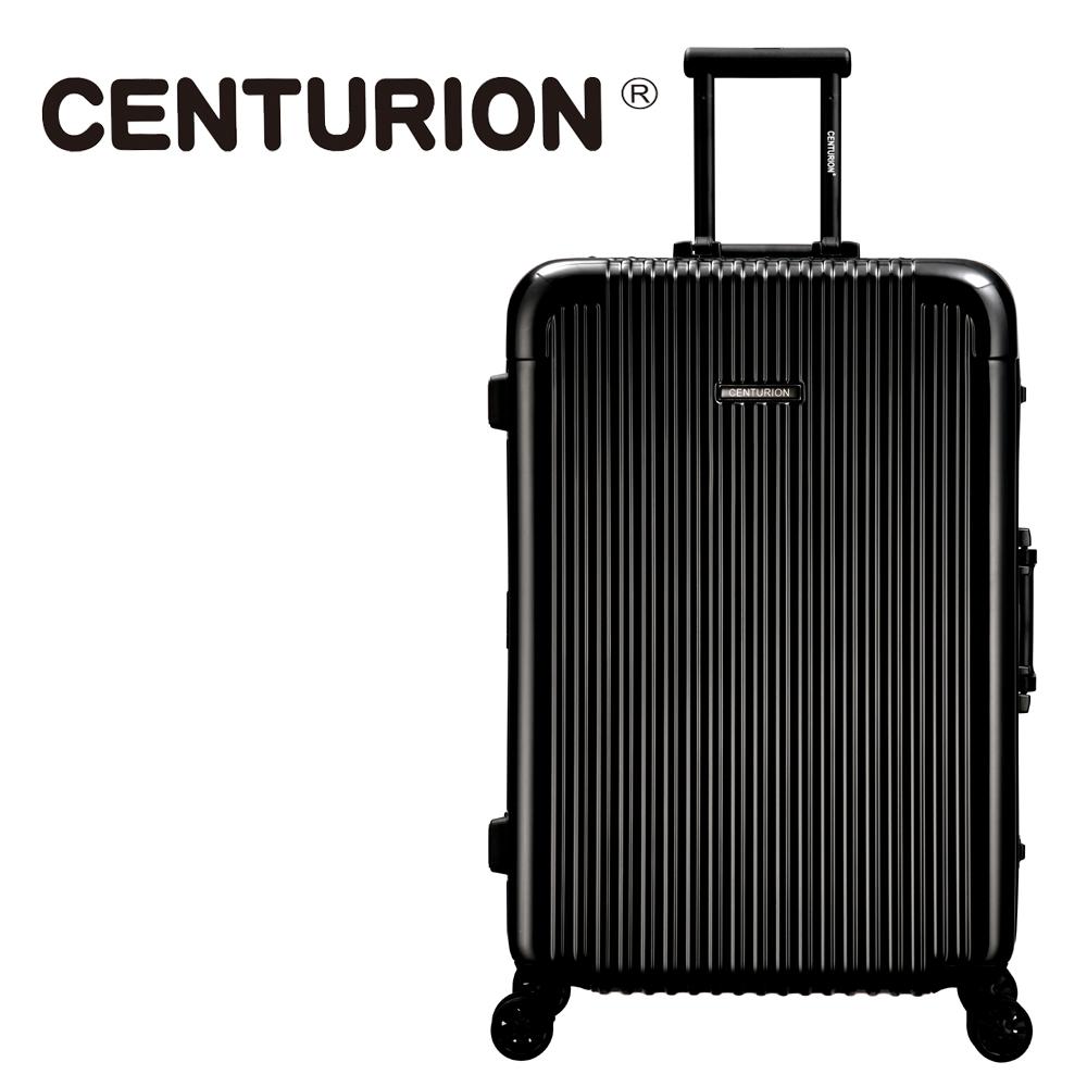 【CENTURION】美国百夫长29吋行李箱-黑a03(铝框箱)