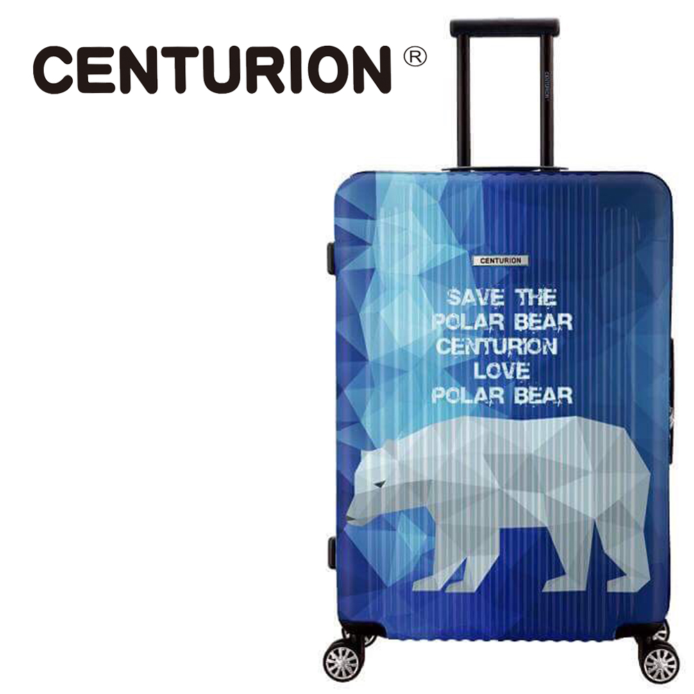 【CENTURION】美国百夫长动物保护系列26吋行李箱-北极熊C79