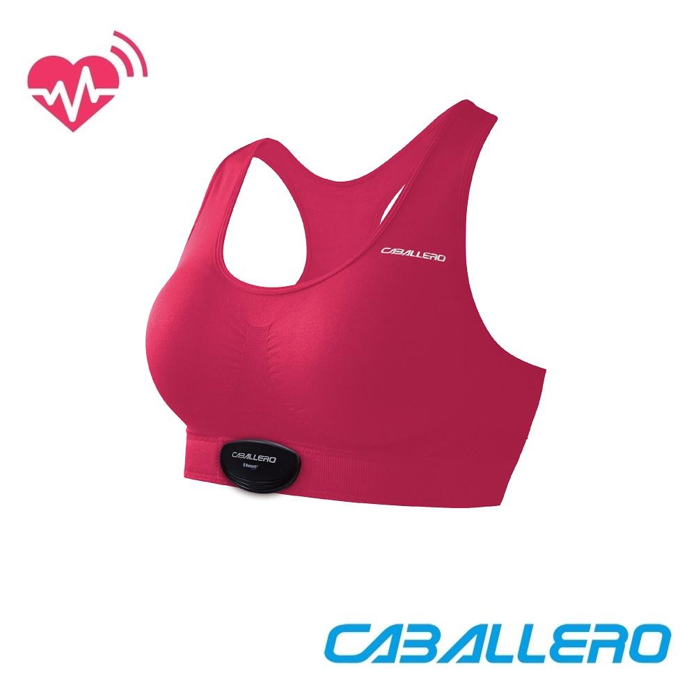 【CABALLERO 機能服飾】女款心跳感測短版運動背心