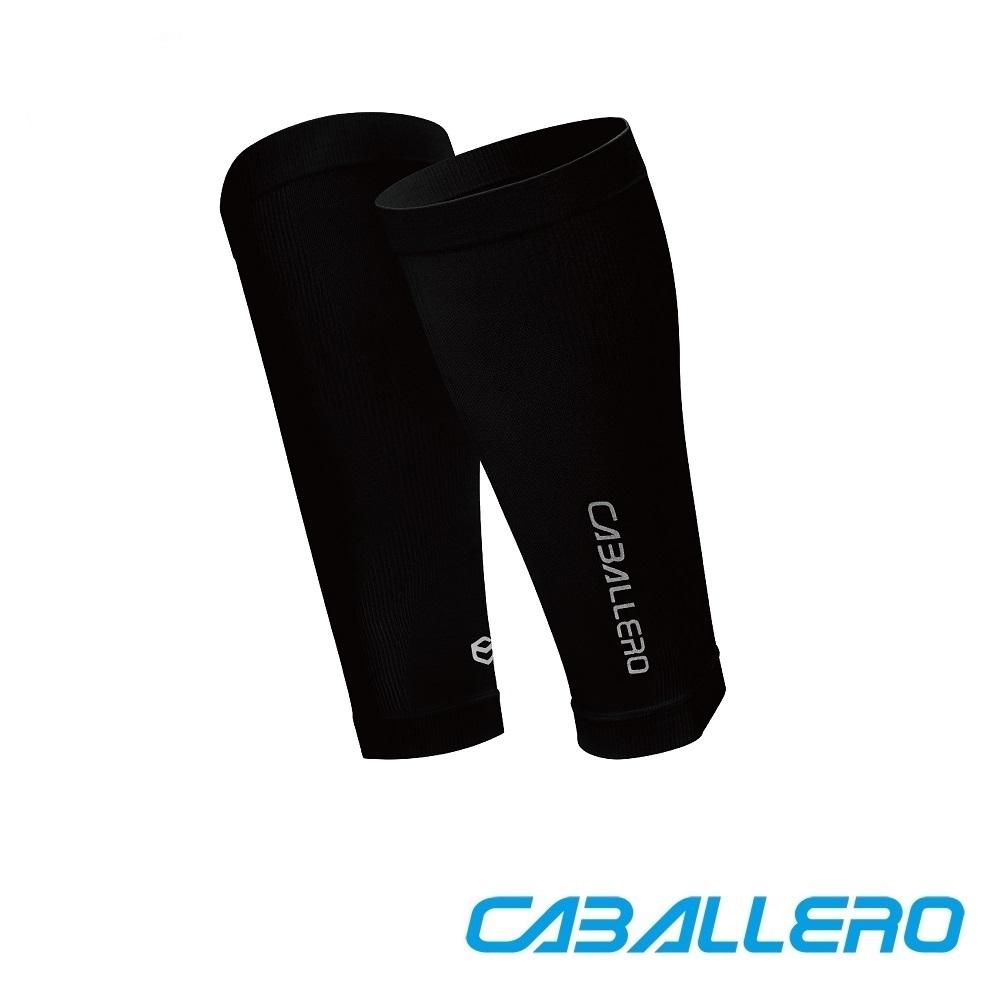 【CABALLERO 機能服飾】一體成型運動壓力腿套─黑色