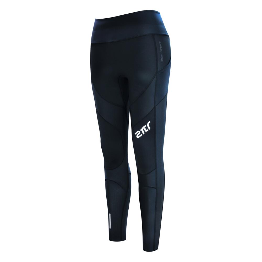 【2PIR 壓力褲】女款3D立體支撐壓力褲 皓月白色