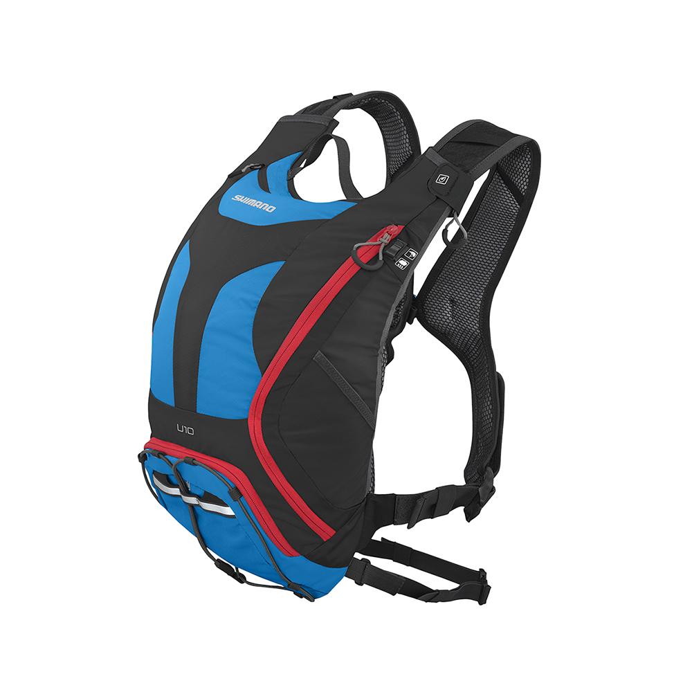 【SHIMANO 背包】UNZEN 10L 自行车水袋背包 英国蓝色