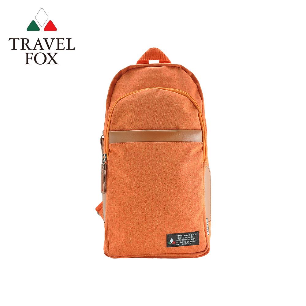 【TRAVEL FOX 旅狐】单肩/双肩两用轻巧后背包 (TB689-16) 橘色