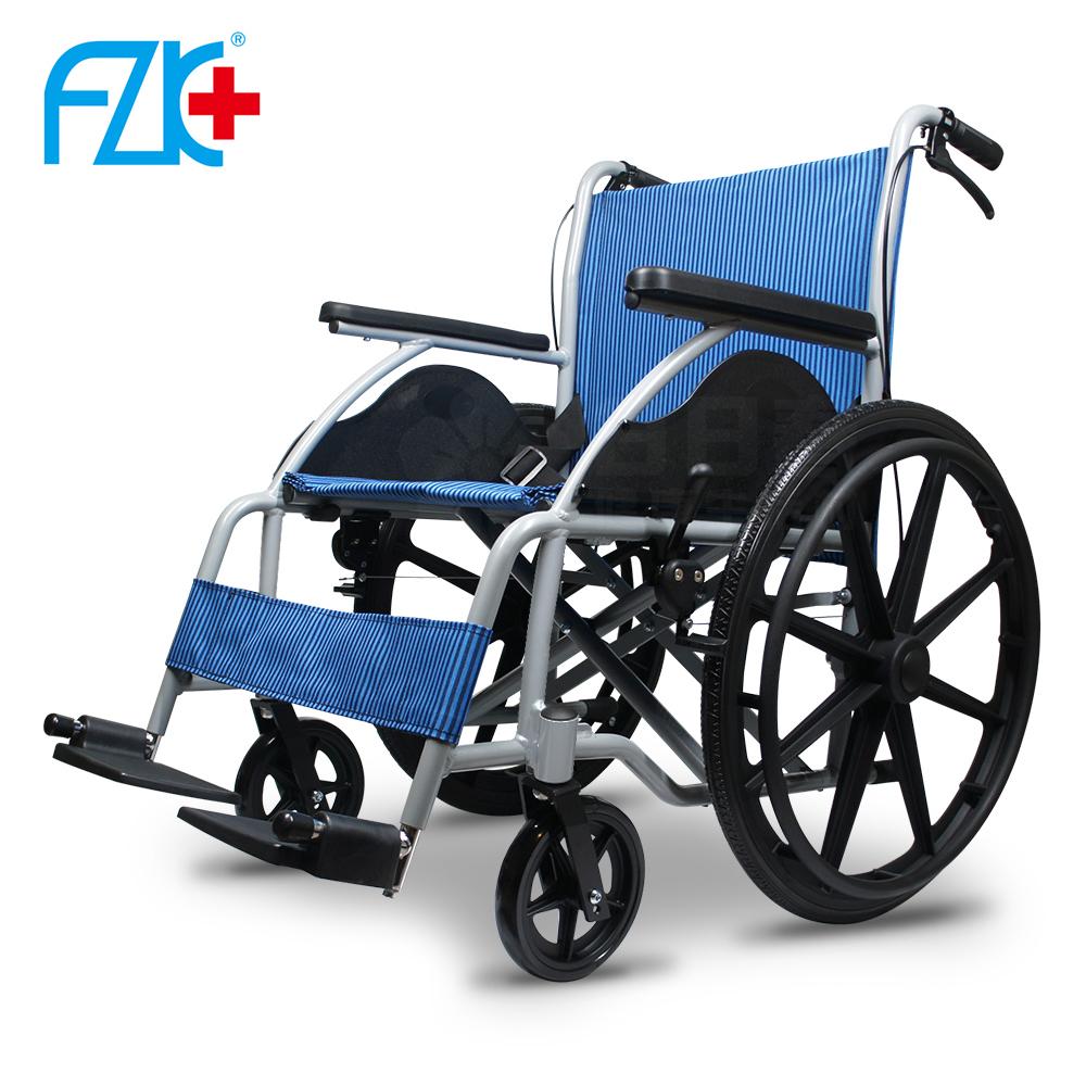 富士康 鋁合金輪椅 經濟型手動輪椅 FZK-101 (三色可選)