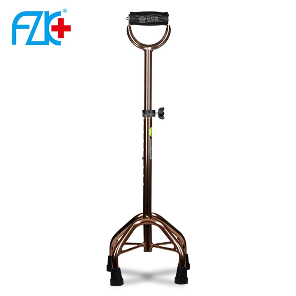 富士康 鋁合金 四腳拐杖 FZK-2057 (古銅色)