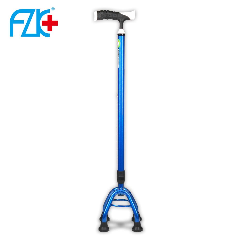 富士康 鋁合金 小四腳拐杖 FZK-2051 (寶藍色)