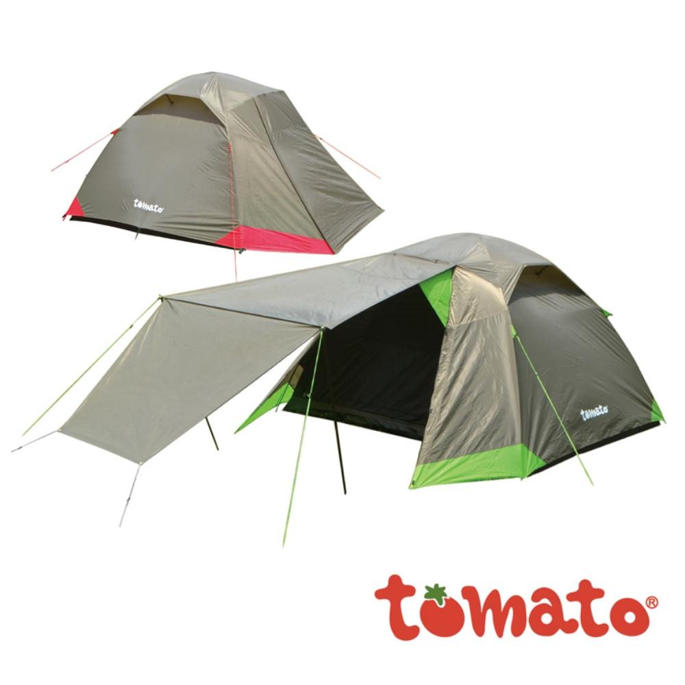 【tomato】tomato 517型休闲五人帐篷 5人帐 帐篷 小家庭五人帐