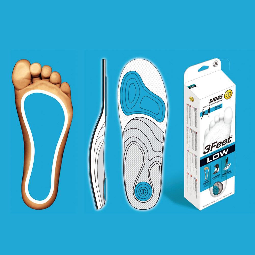 【SIDAS】SIDAS 3feet® 法国 顶级运动鞋垫 低足弓适用 专业型 鞋垫