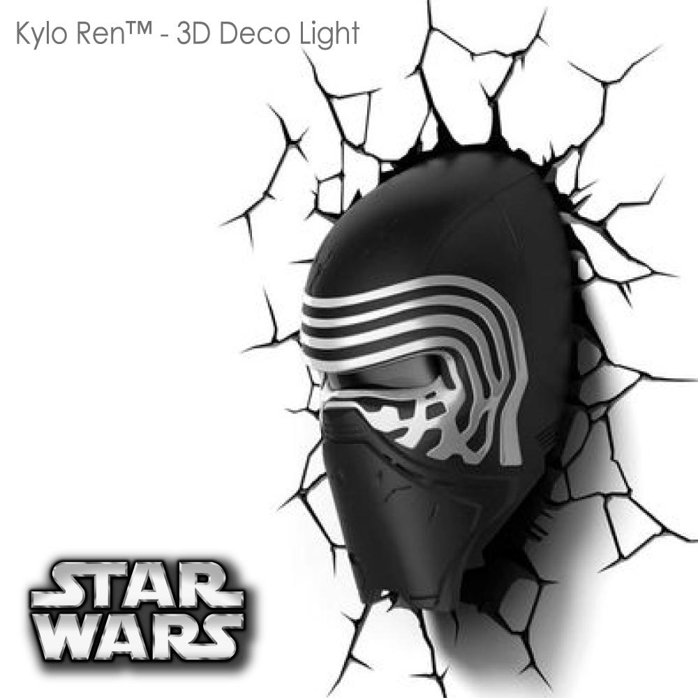 【星際大戰 STAR WARS   ▪    KYLO REN 凱洛忍  ▪ 】立體造型壁燈