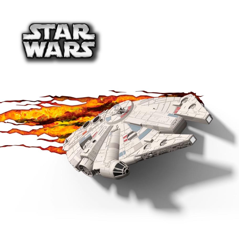 【星際大戰 STAR WARS   ▪   千年鷹號  ▪ 】立體造型壁燈