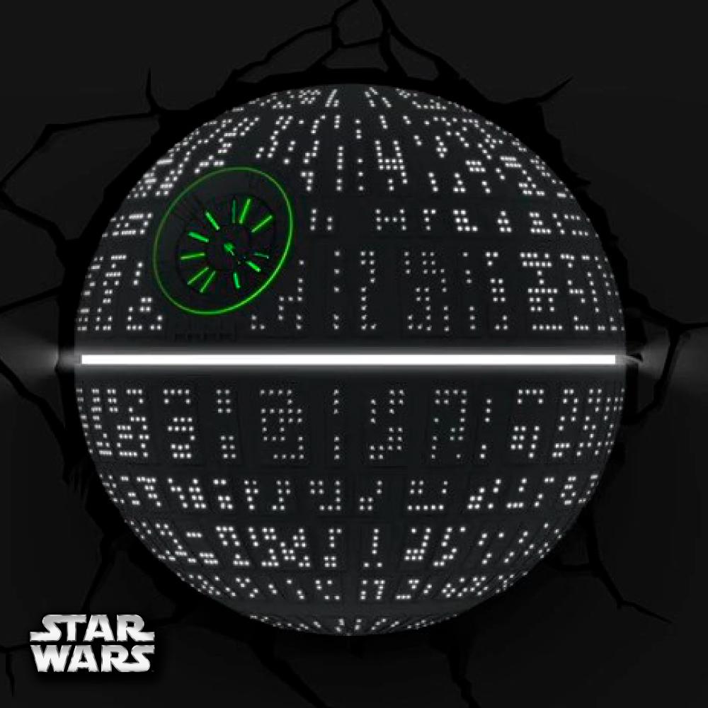【星際大戰 STAR WARS   ▪  死星  ▪ 】立體造型壁燈