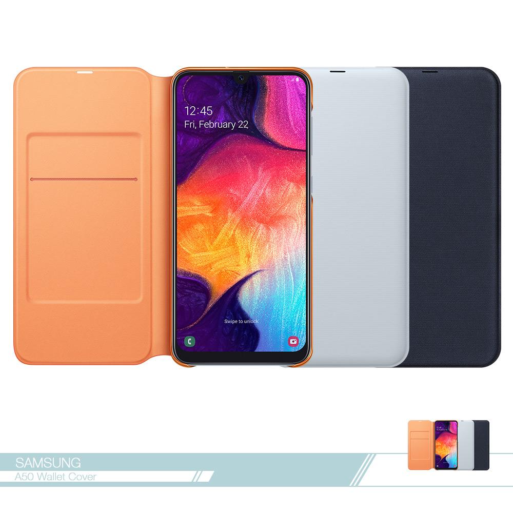 Samsung三星 原廠Galaxy A50專用 皮革翻頁式皮套【盒裝公司貨】