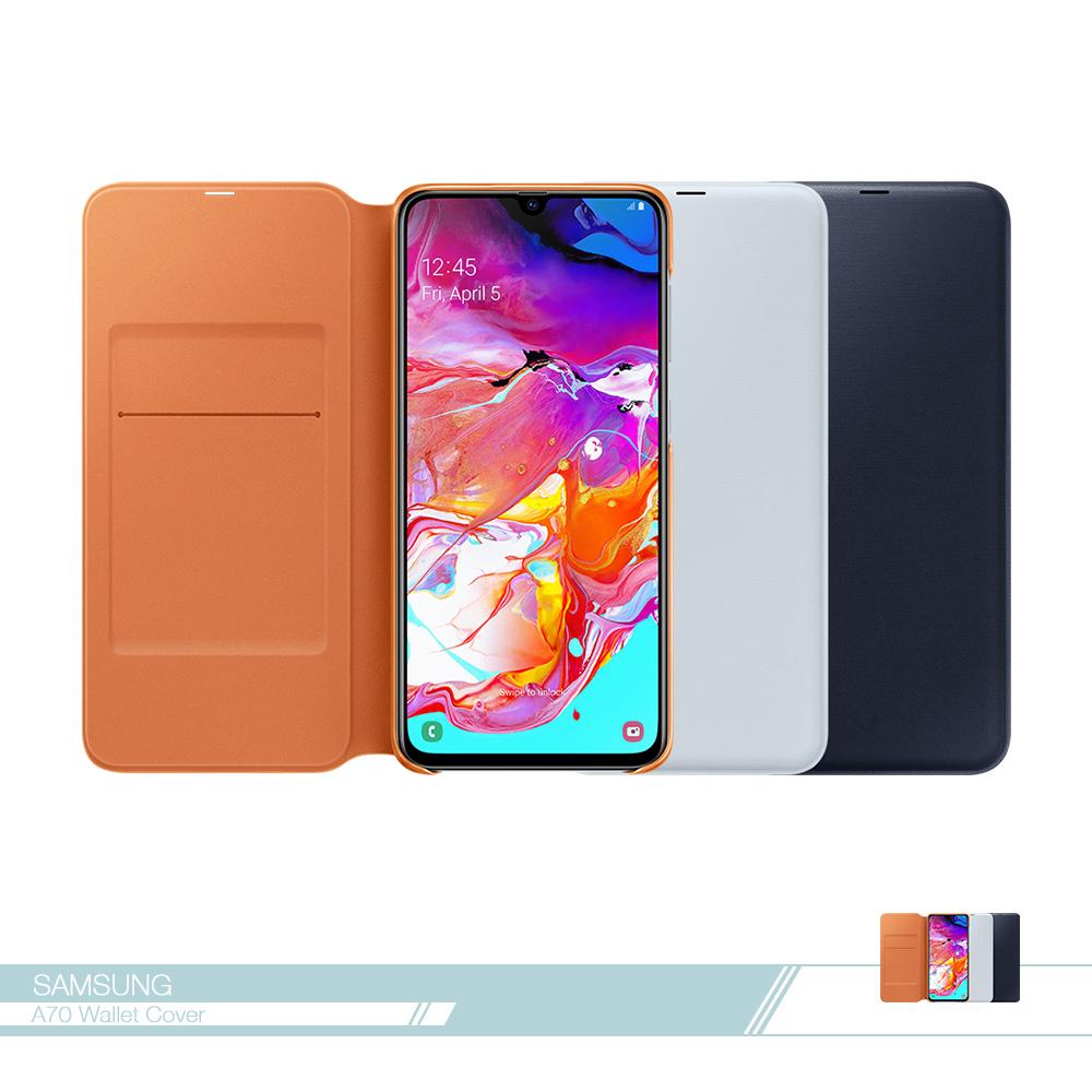 Samsung三星 原廠Galaxy A70專用 皮革翻頁式皮套【盒裝公司貨】
