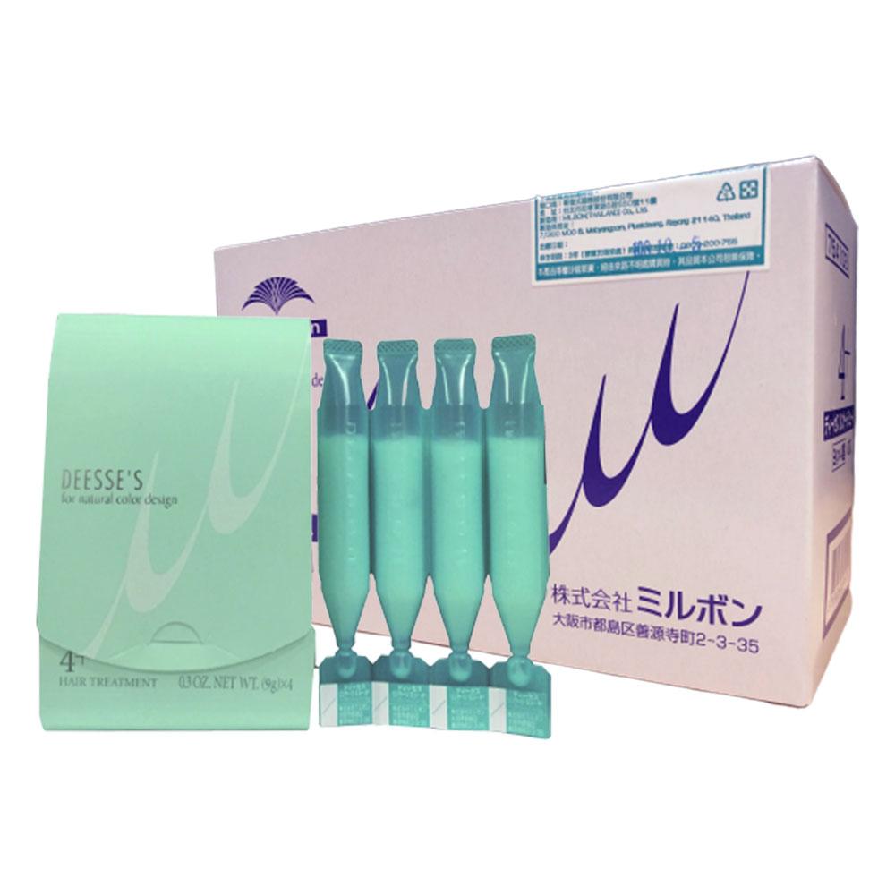 哥德式 柔漾護髮四劑系列 4+一般髮(9g*4/包,10包入)