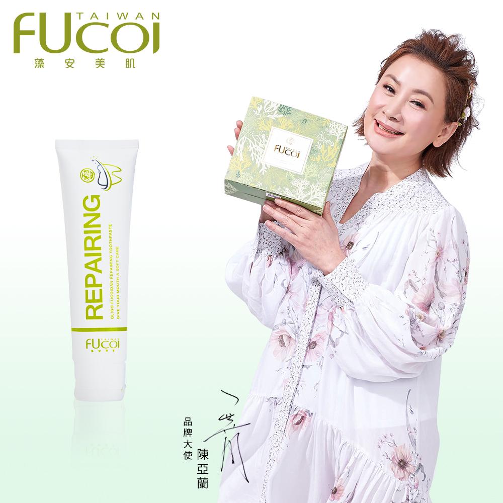 【FUcoi藻安美肌】口周護理系列 藻萃雙重修護牙膏90g