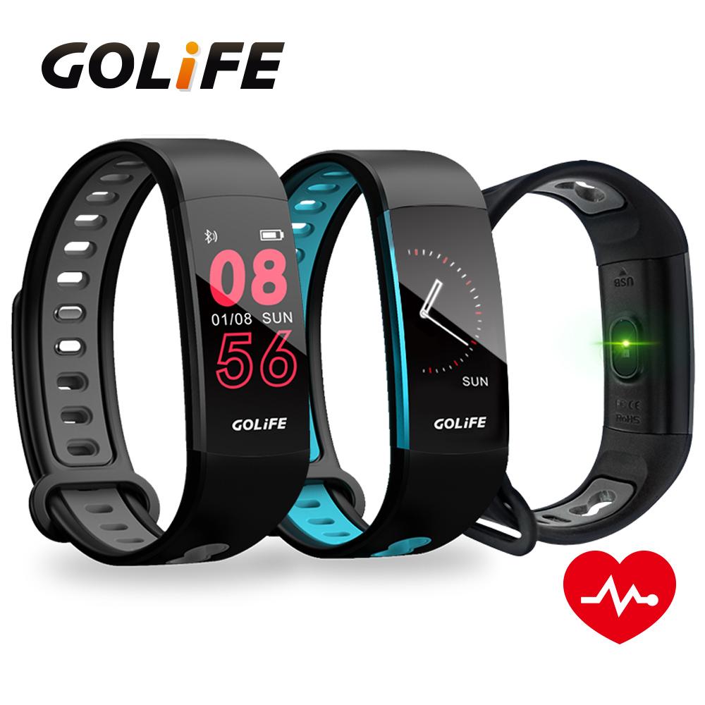 【GOLiFE】Care 3 藍牙智慧全彩觸控心率手環