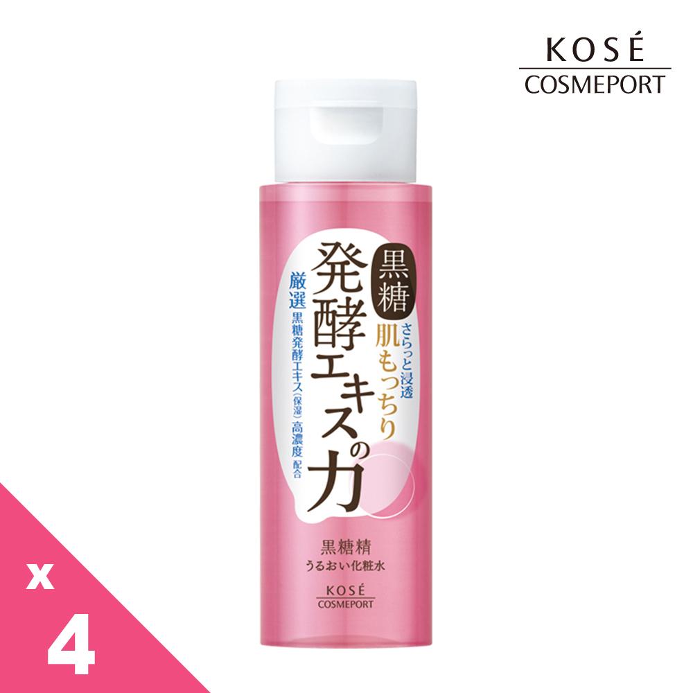 KOSE 黑糖精 透潤化粧水 180ml 4入組