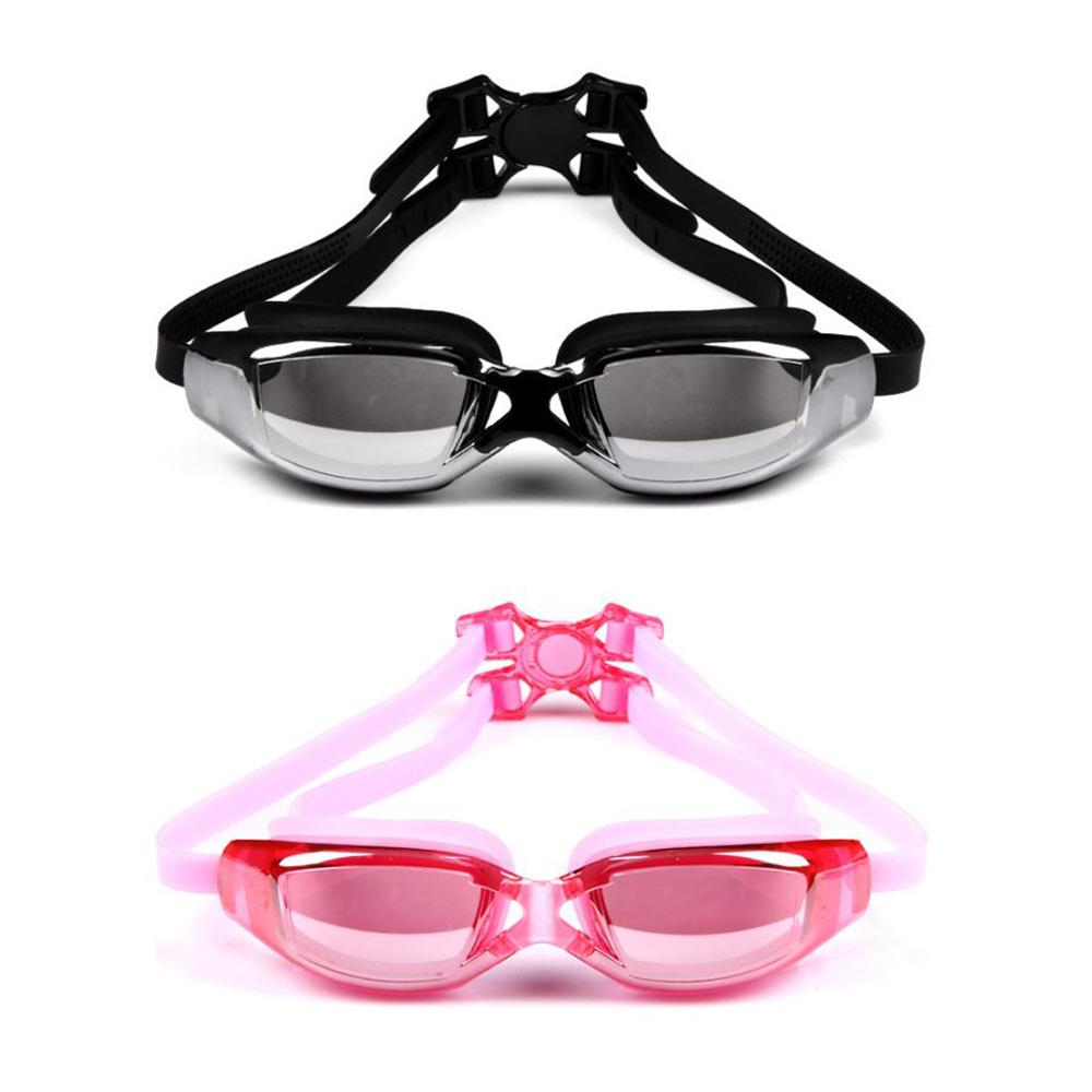 【COMET】電鍍平光大框防水防霧成人泳鏡(YY-6311)