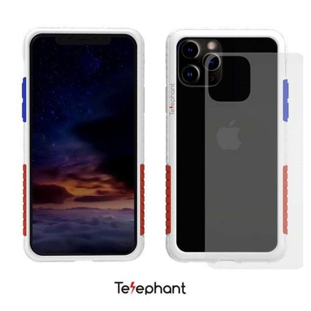 太樂芬 NMDer 防摔殼 白框紅藍 iPhone 11 Pro MAX