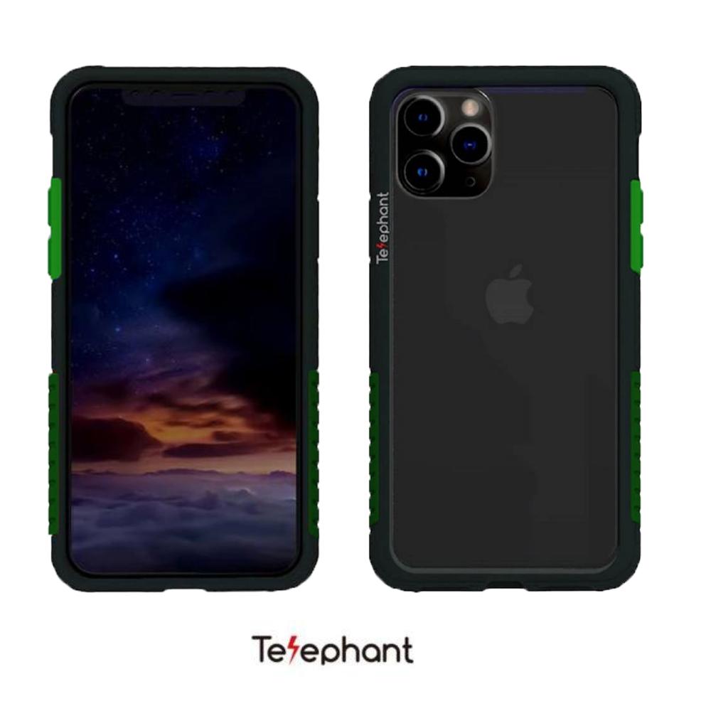 太樂芬 NMDer 防摔殼 黑框綠 iPhone 11 Pro MAX