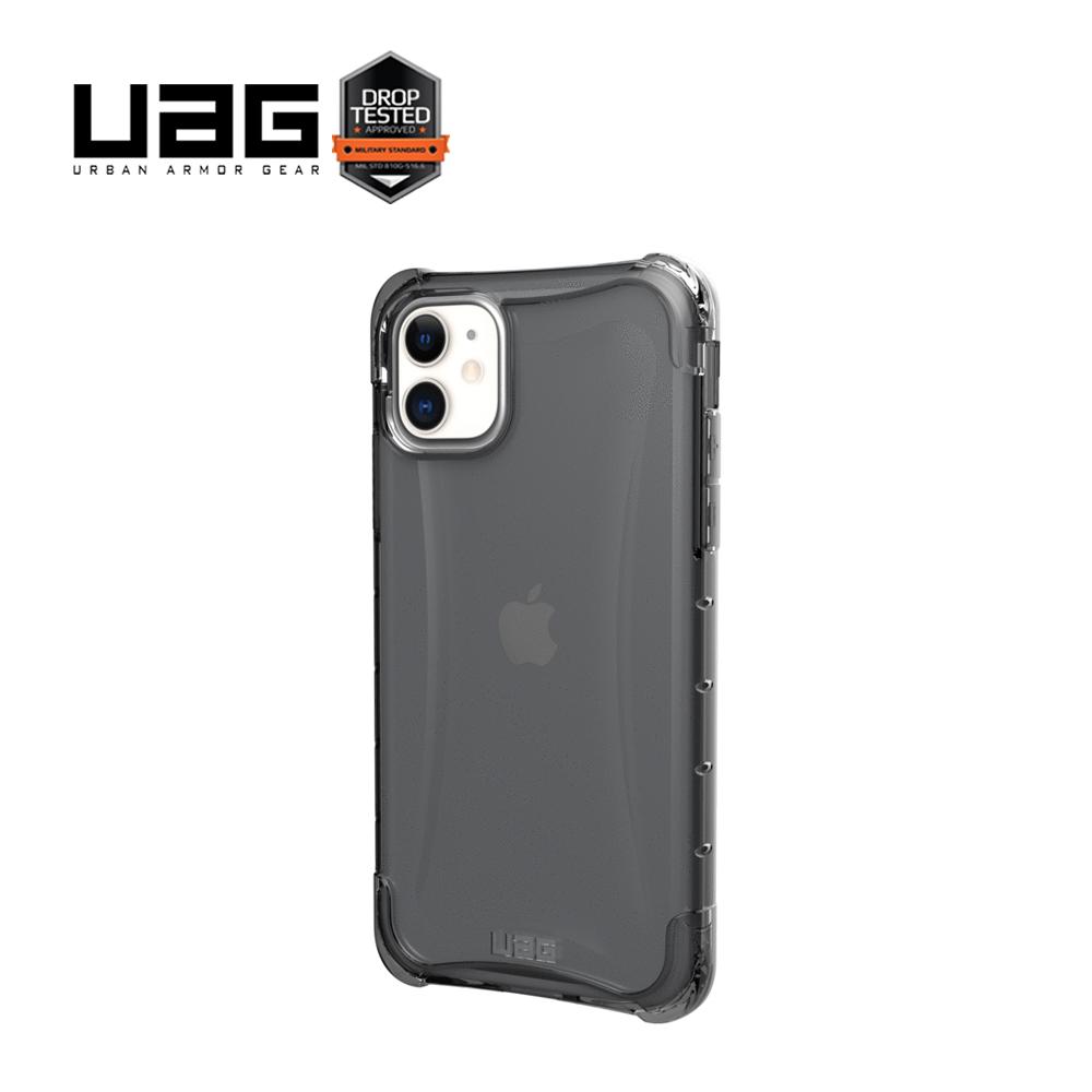 UAG 美國軍規耐衝擊晶透系列 透黑 iPhone 11