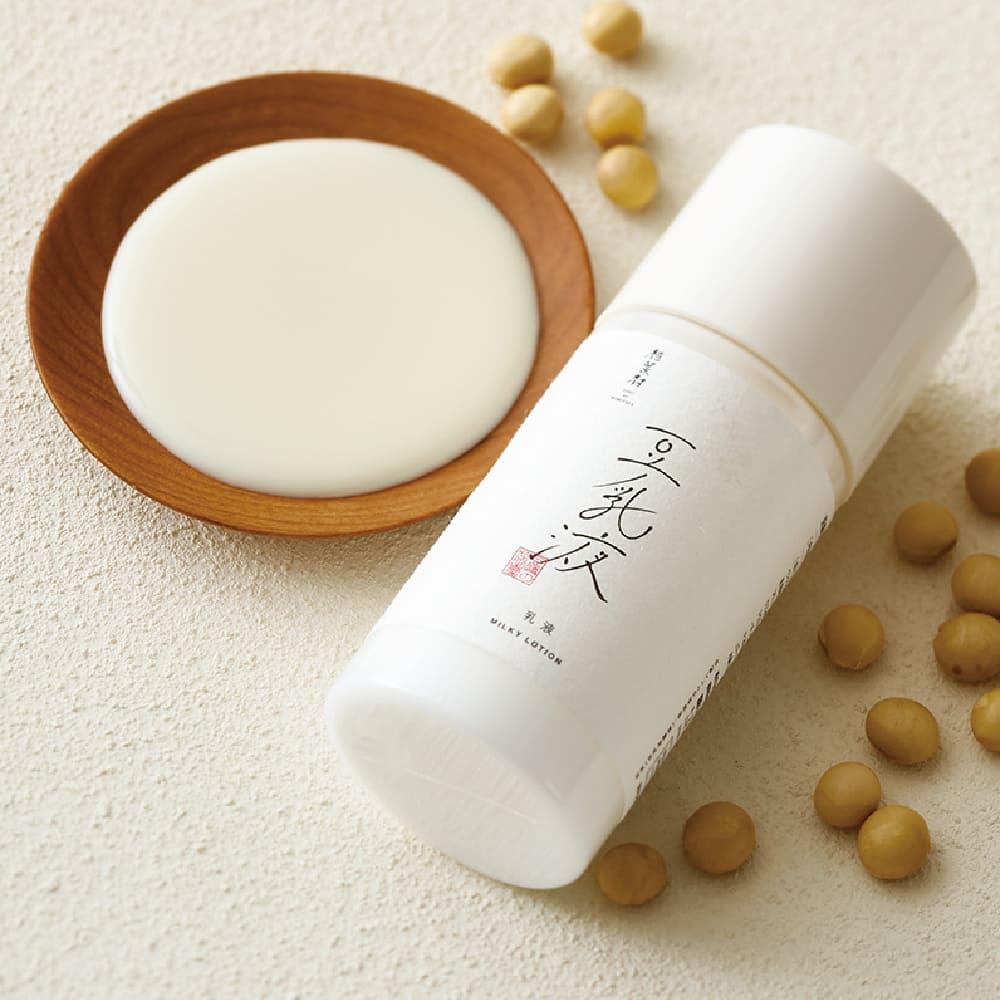 豆腐盛田屋 豆乳保濕化妝水&豆乳面霜&豆乳乳液 送mini洗臉皂&起泡網