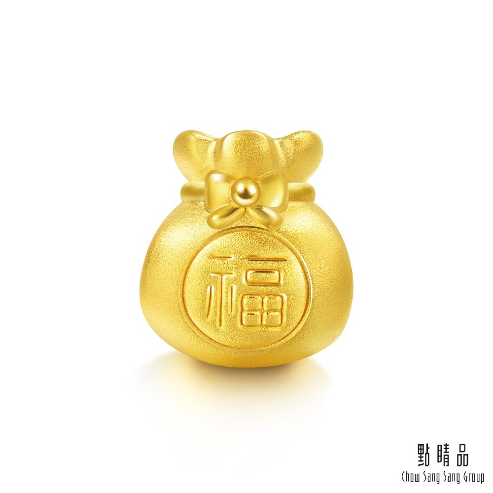 點睛品 Charme 文化祝福 幸運福袋 黃金串珠