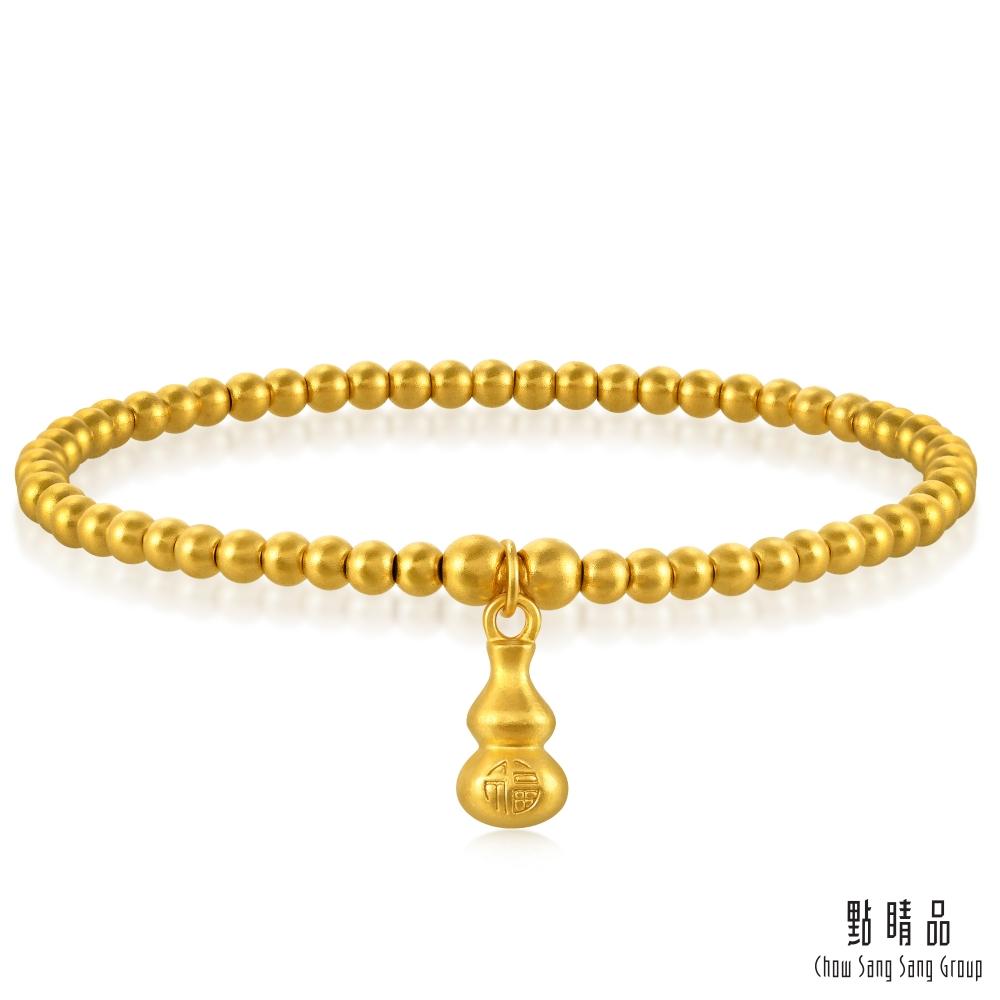 點睛品 圓珠葫蘆 黃金手鍊_計價黃金
