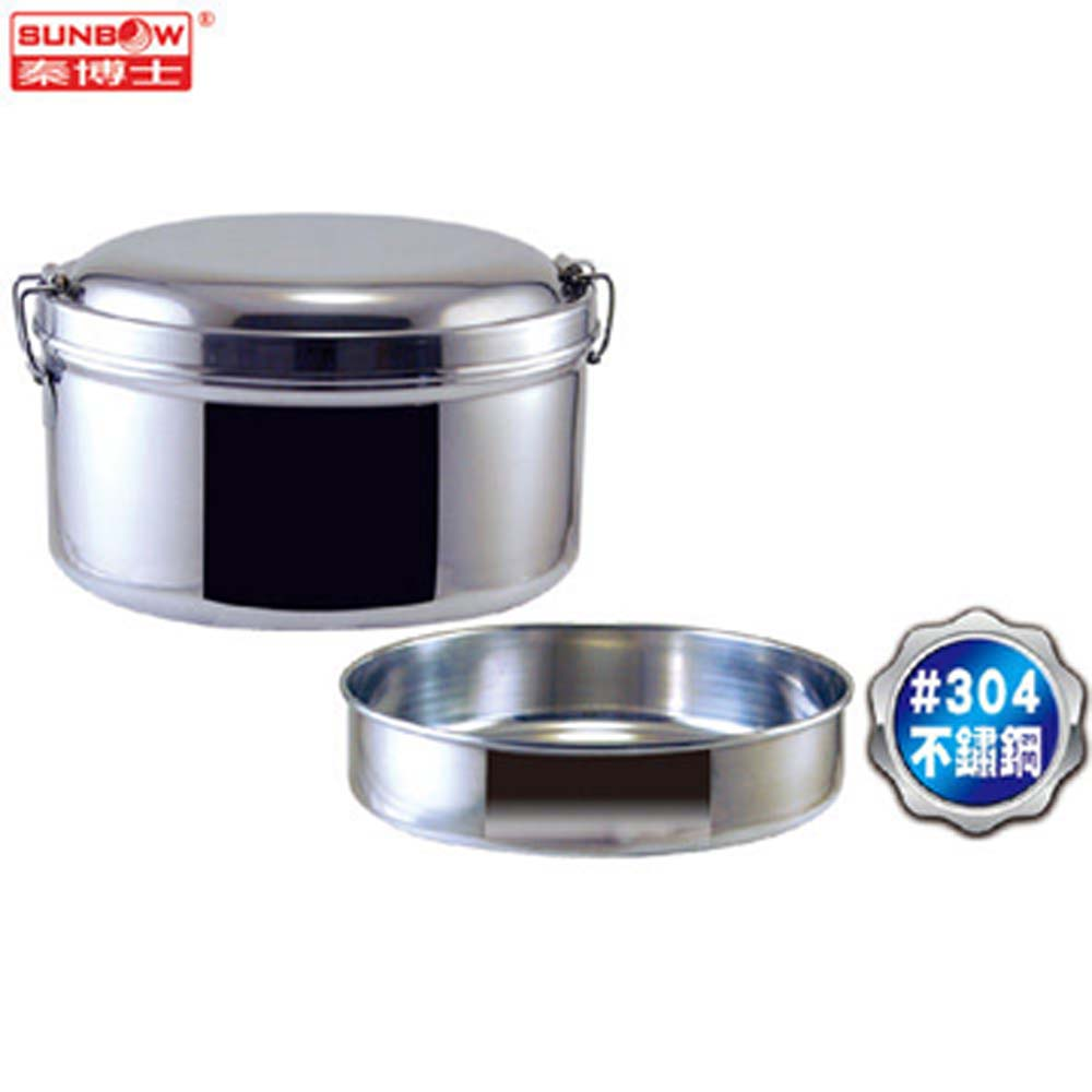 【秦博士】304不鏽鋼深格加厚便當盒 SMC214-304