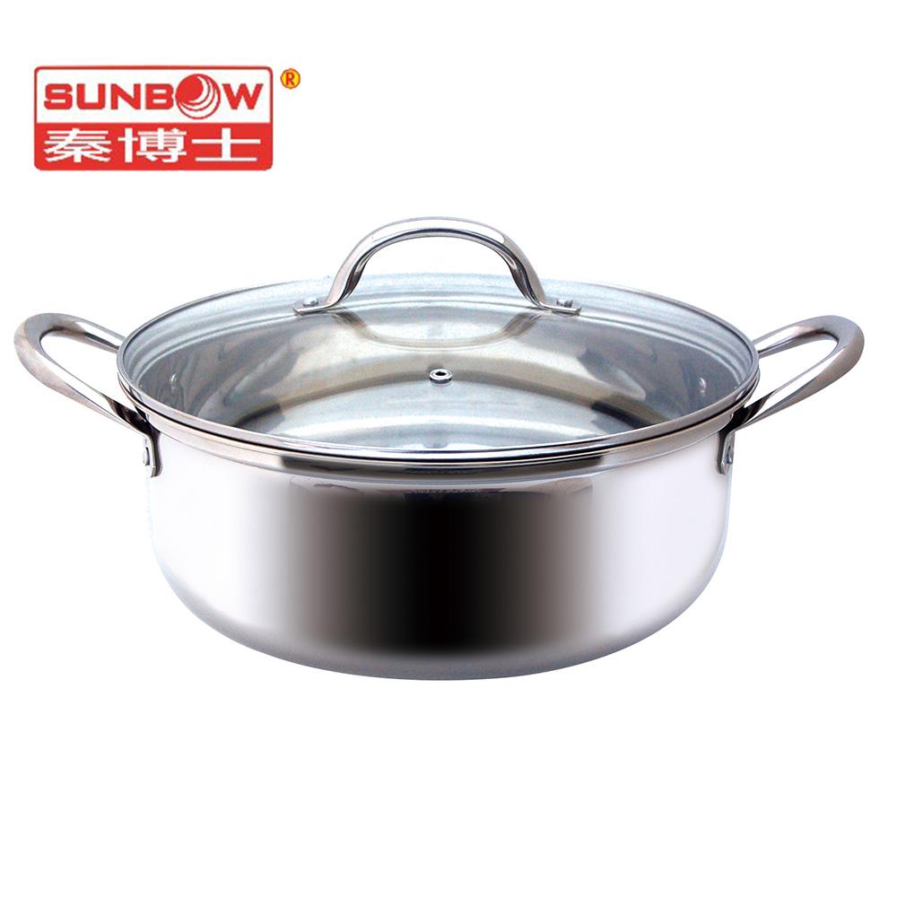 秦博士 28cm深形萬用鍋 SM228HN-304材質
