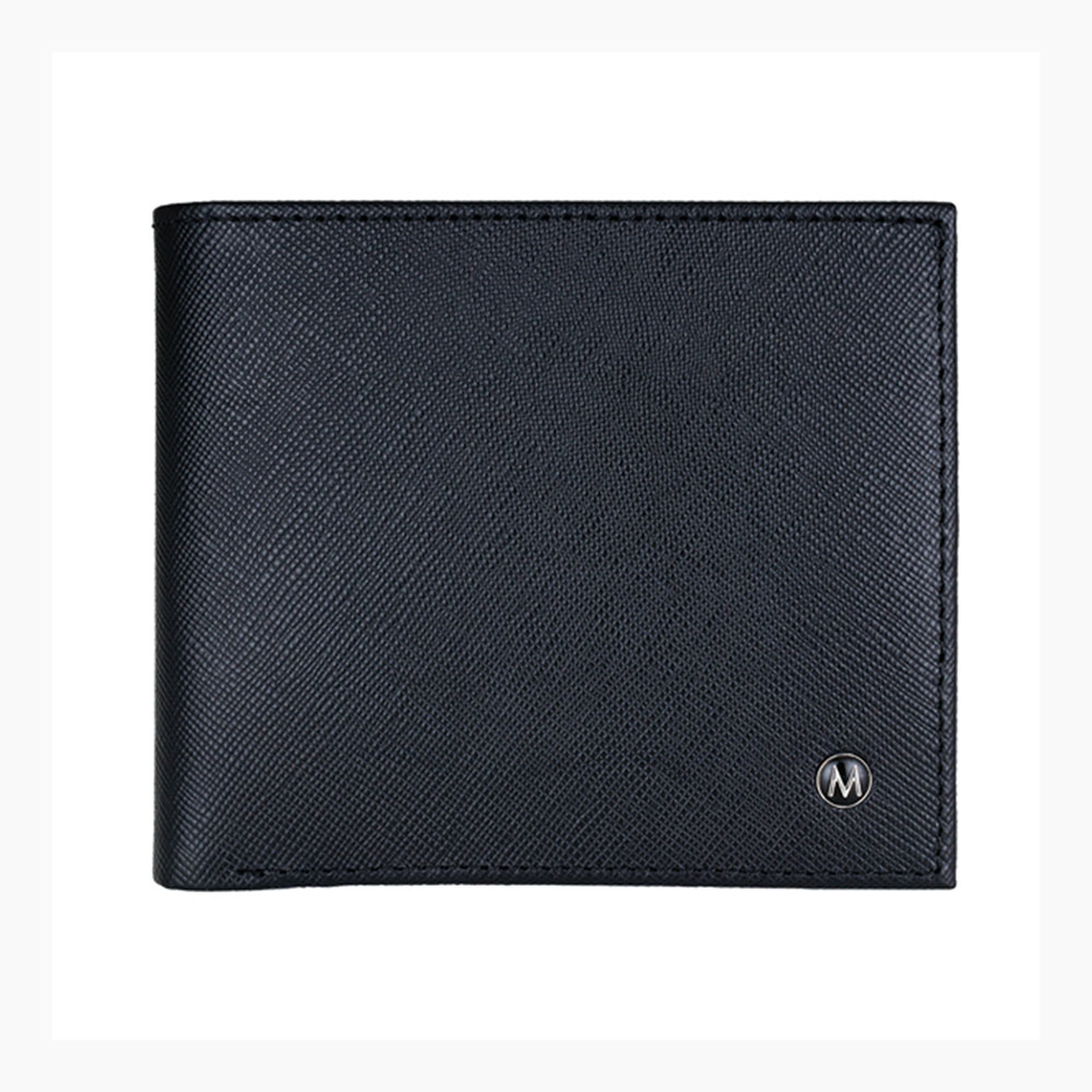 MONDAINE 瑞士國鐵黑標牛皮8卡短夾+名片夾禮盒XW-150603+150102