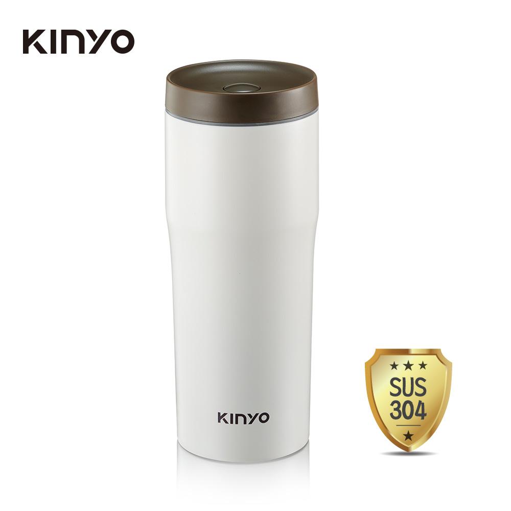 KINYO 內膽304車用保溫杯(480ml) KIM-37