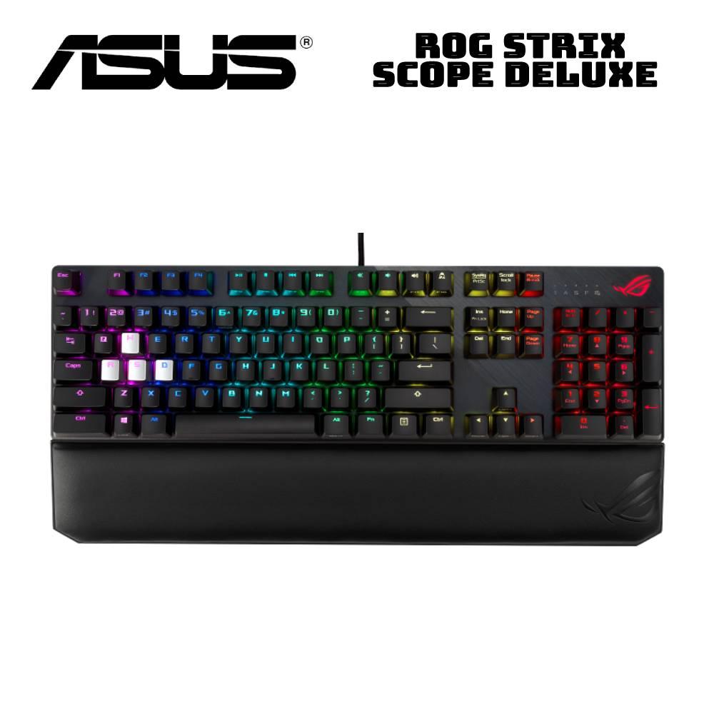 ASUS 華碩 ROG STRIX SCOPE Deluxe 電競鍵盤