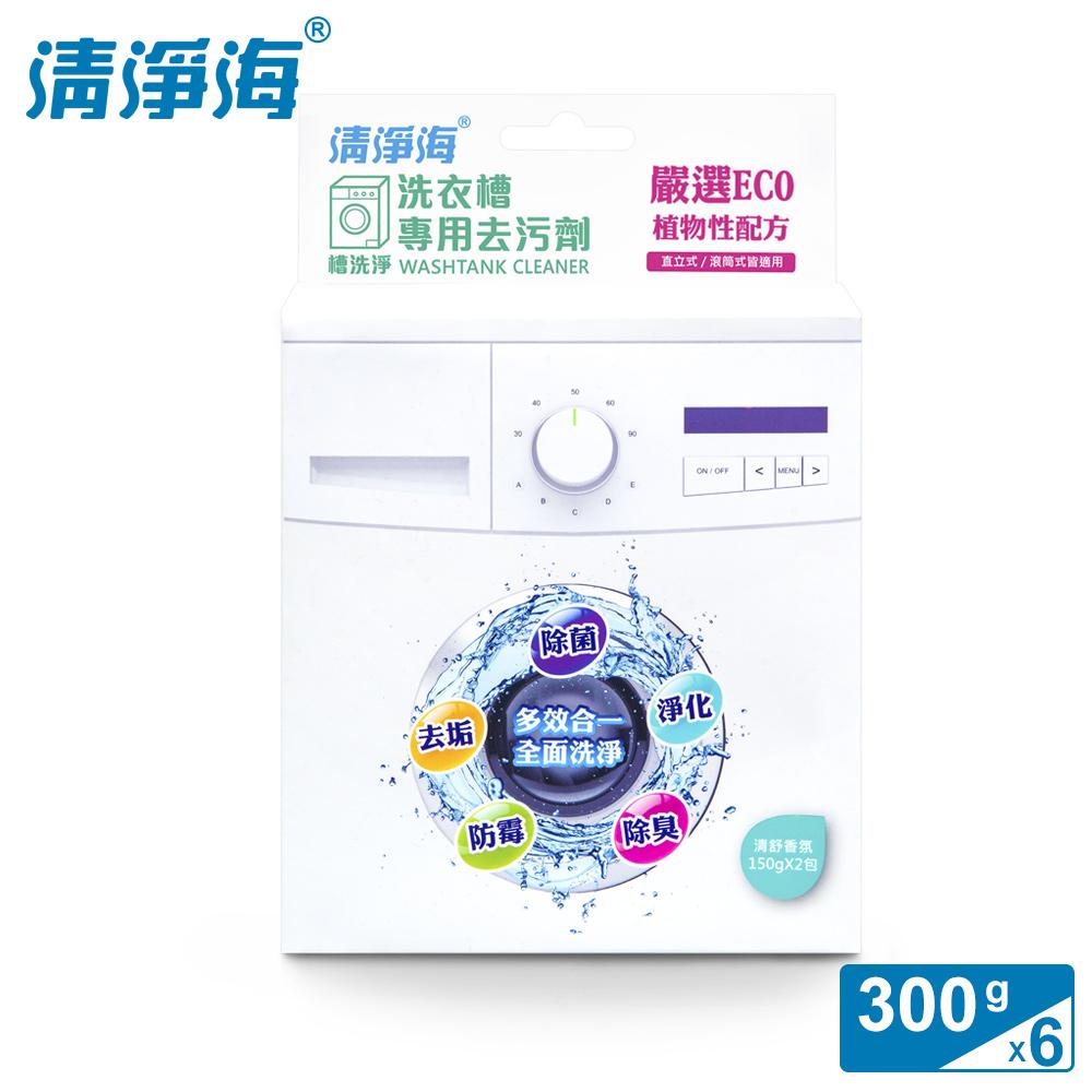 清淨海 槽洗淨-洗衣槽專用去污劑 300g (6入組)