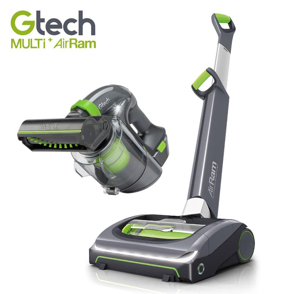 英國 Gtech 小綠 AirRam + Multi Plus 無線吸塵器 (第二代超值組)