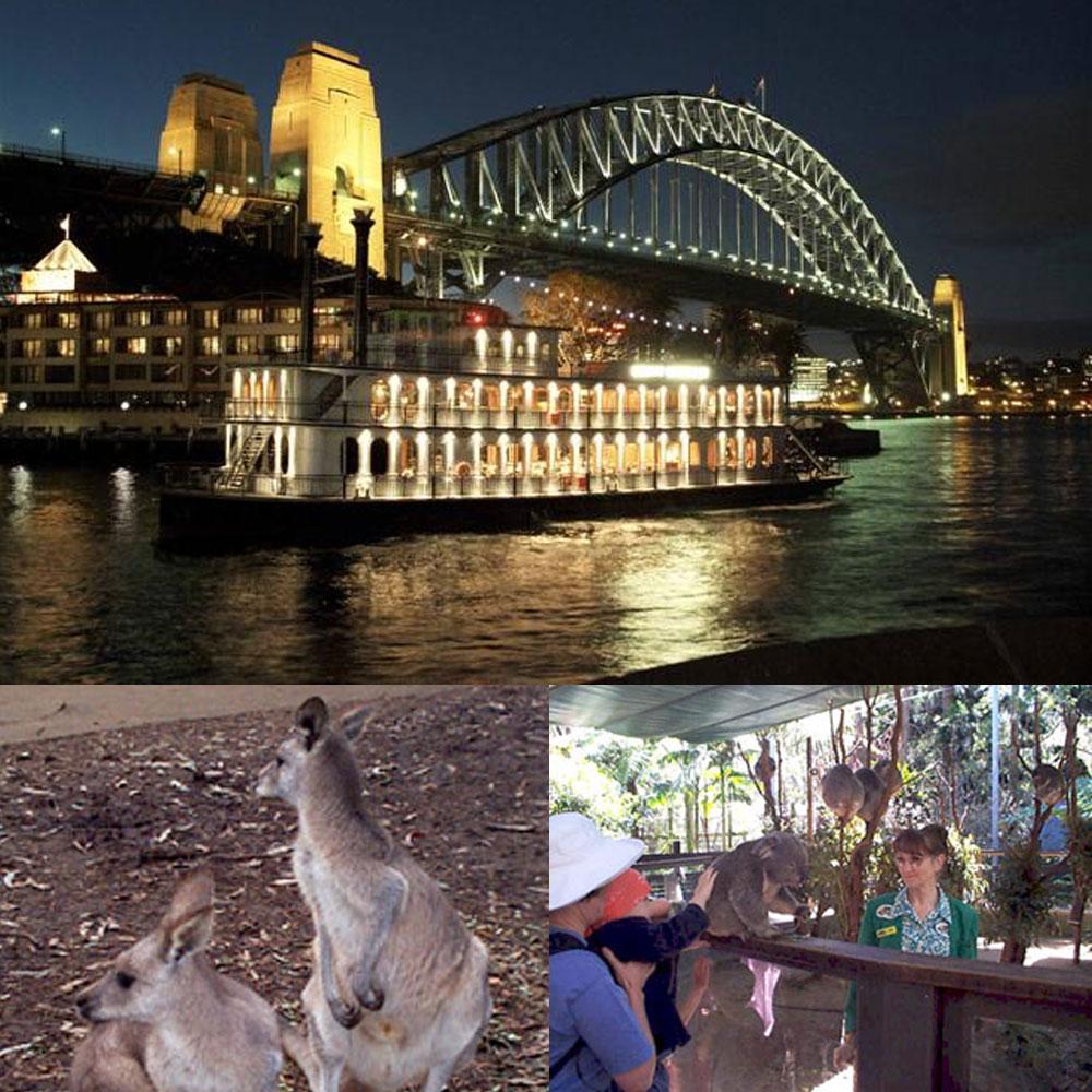 新春好運旺》雪梨歌劇院、藍山國家公園、港灣遊船河、相約無尾熊七日(含稅簽)
