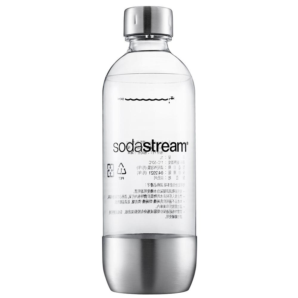 Sodastream專用水瓶1L 1入(金屬)
