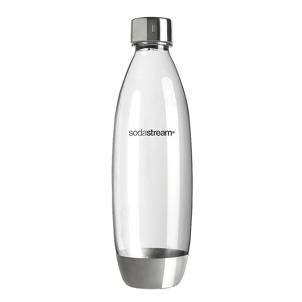Sodastream水滴型專用水瓶1L 1入(金屬)