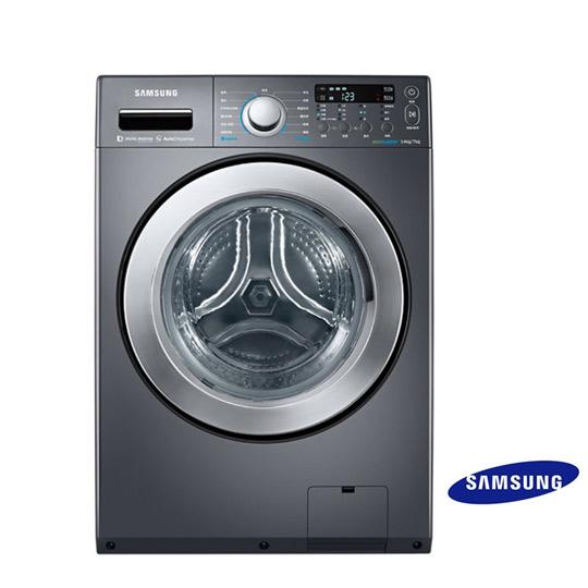 三星14公斤變頻滾筒洗脫烘洗衣機WD14F5K5ASG/TW