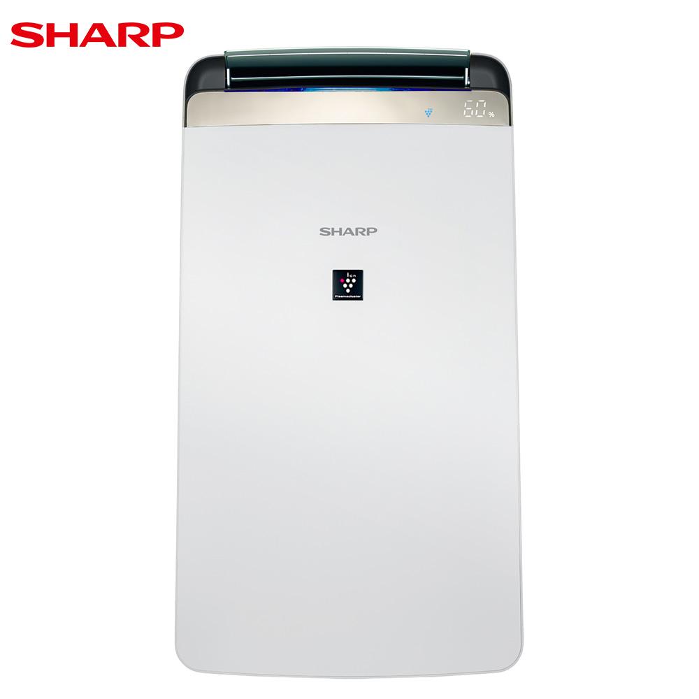 SHARP夏普10L清淨除濕機DW-J10FT-W