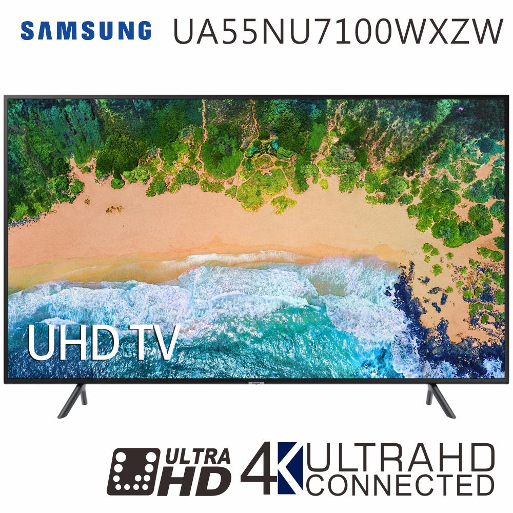 SAMSUNG三星 55吋 4K UHD連網液晶電視(UA55NU7100WXZW)