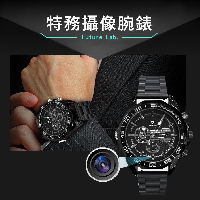 【Future Lab.未來實驗室】Det.X特務攝像腕錶