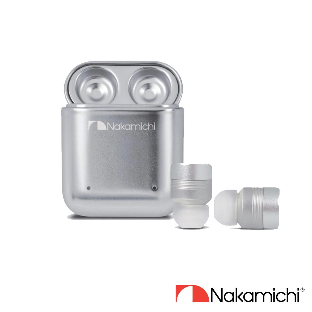 Nakamichi My Ears II 真無線耳機(銀色)