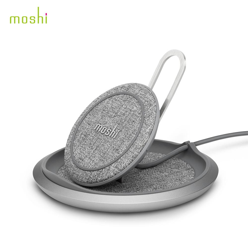 moshi Lounge Q 直立可調式無線充電盤