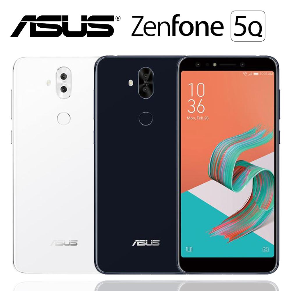 ASUS ZenFone 5Q ZC600KL (4G/64G)超廣角四鏡頭雙卡機※送5千行電+內附透明軟殼※