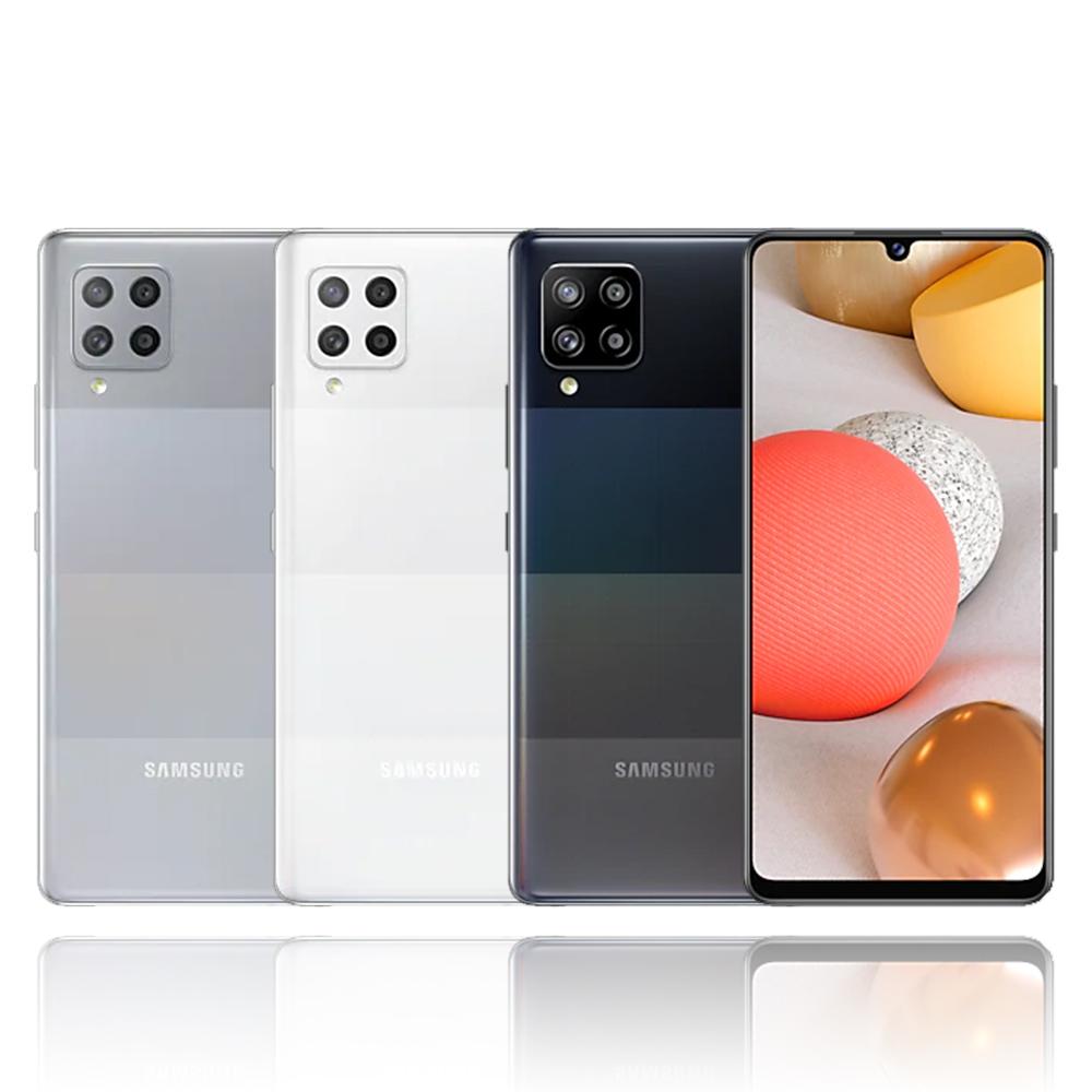 Samsung Galaxy A42 (8G/128G)大電量5G雙卡機※送自拍桿+盒內附保護殼※