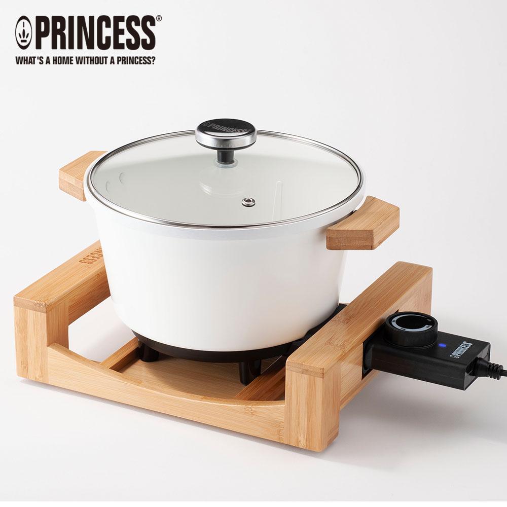 【夏日促銷】荷蘭公主多功能陶瓷料理鍋173030贈油炸籃